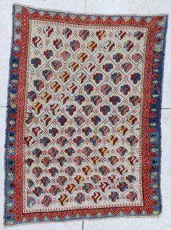 6449 Kuba antique rug