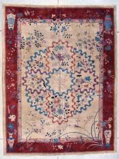 7722 art deco chinese rug