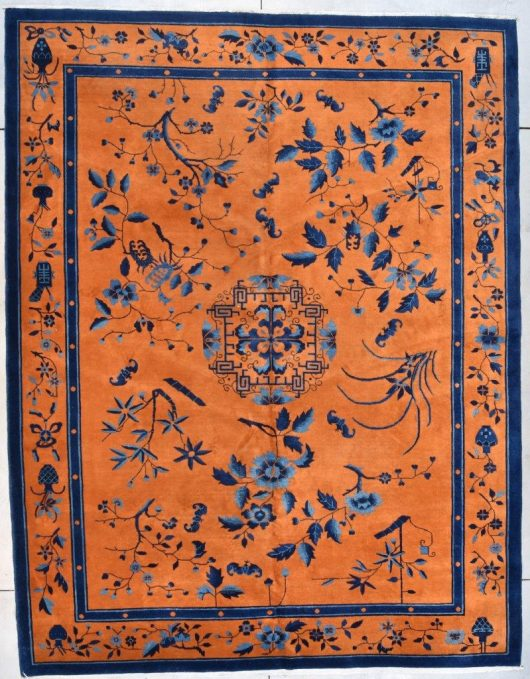 7729 art deco chinese rug