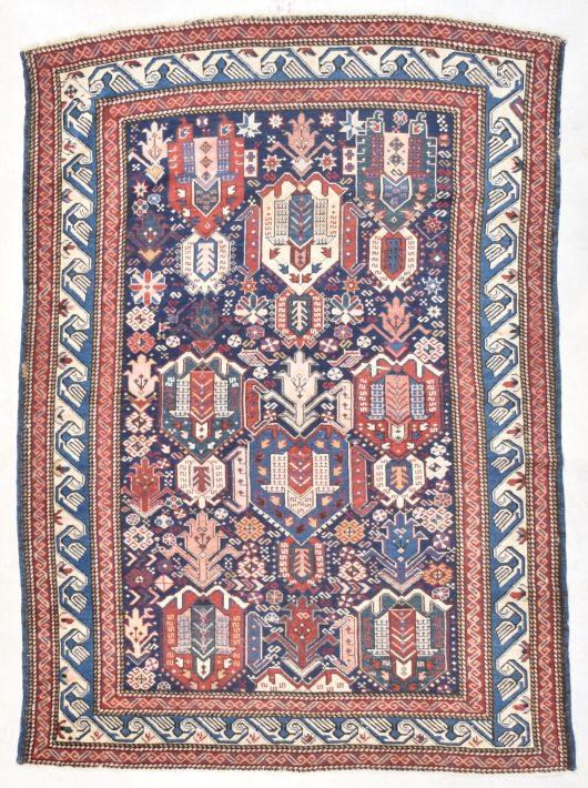 7735 kuba antique rug