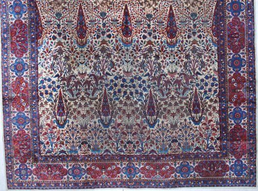 5927 Laver Kerman antique rug image