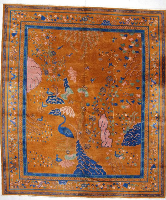 5929 Art Deco Chinese Rug