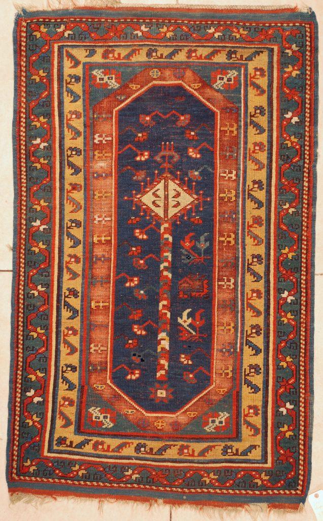6020 Megri Antique Turkish Rug 3 3 X 5 3 Antique Oriental Rugs