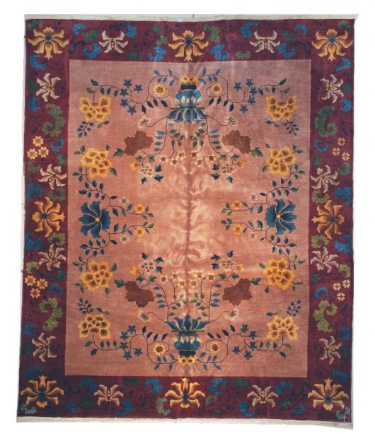 6083 art deco Chinese rug