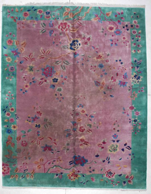6112 art deco chinese rug