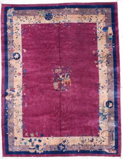 6339 art deco Chinese rug