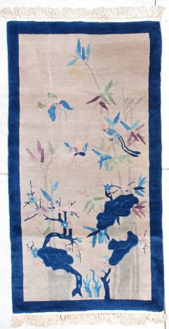 6346 art deco Chinese Peking rug