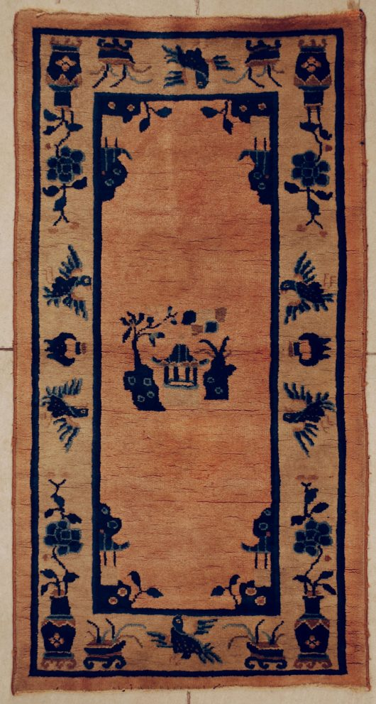 6353 art deco Chinese rug