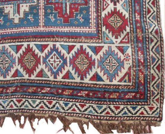 6423 shirvan rug closeup 2