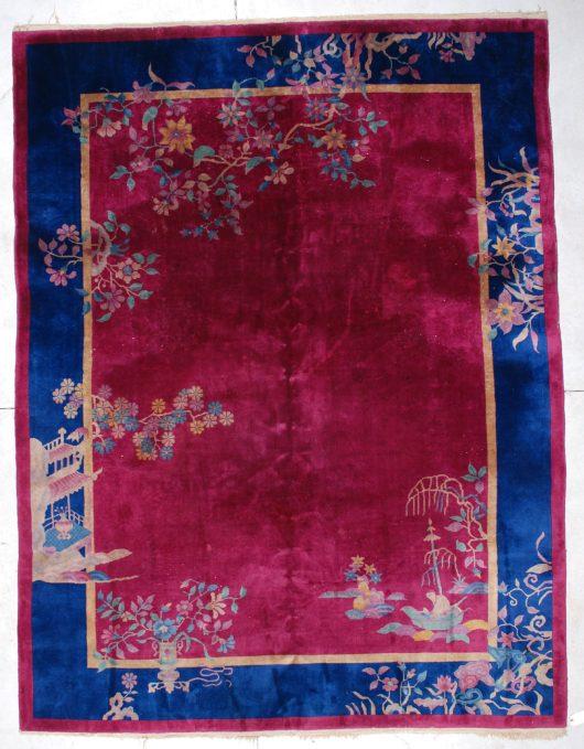 6442 art deco Chinese rug