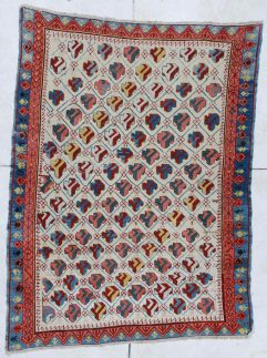 6449 Kuba antique rug