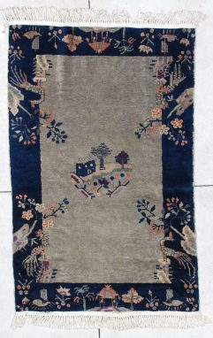 6501 art deco Chinese rug