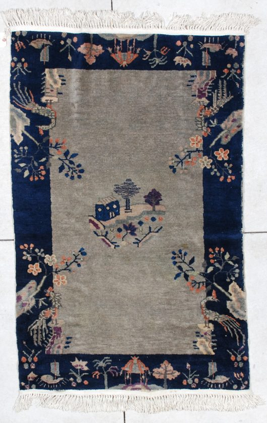 6501 art deco Chinese rug