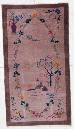 6526 art deco Chinese rug