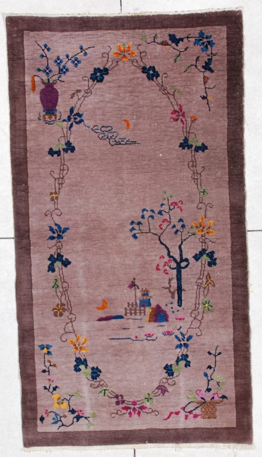 6526 art deco Chinese rug