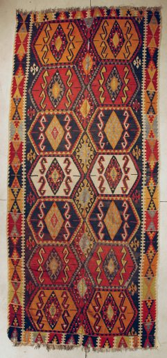 Yuruk Kilim antique Rug
