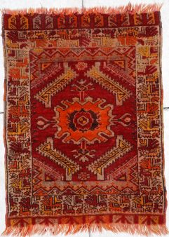 Yastic Turkish antique Rug