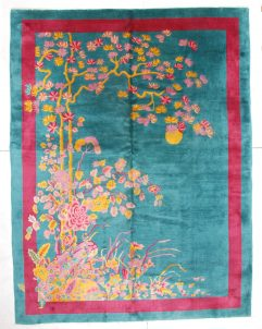 6686 art deco chinese rug