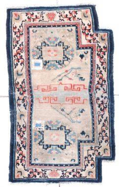 6736 Chinese saddle rug