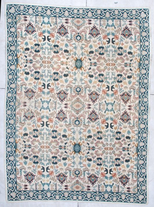 6938 portugese chain stitch rug