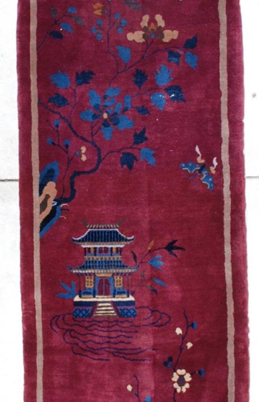 7176a art deco chinese rug