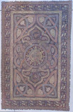 7217 Ottoman metal curtain