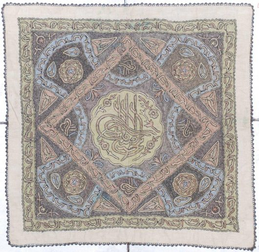 7223 ottoman tapestry