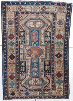 7241 Key hole Shirvan rug