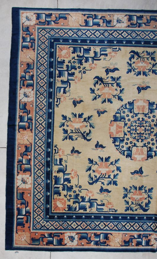 ningxia butterfly rug detail