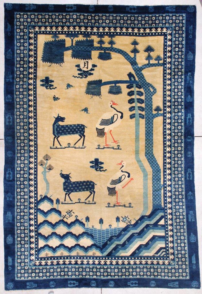 Handmade Mongolian Rug, 1920s for sale at Pamono |Mongol Rug