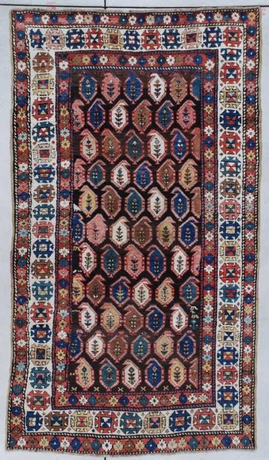 7320 Kazak antique Rug