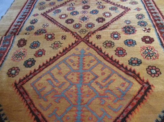 image serab persian runner camel hair 7334