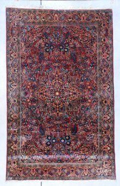 7438 Sarouk rug