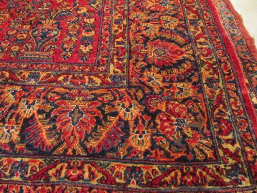 7454 sarouk rug images closeups