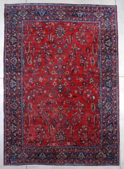 7468 antique Kerman rug