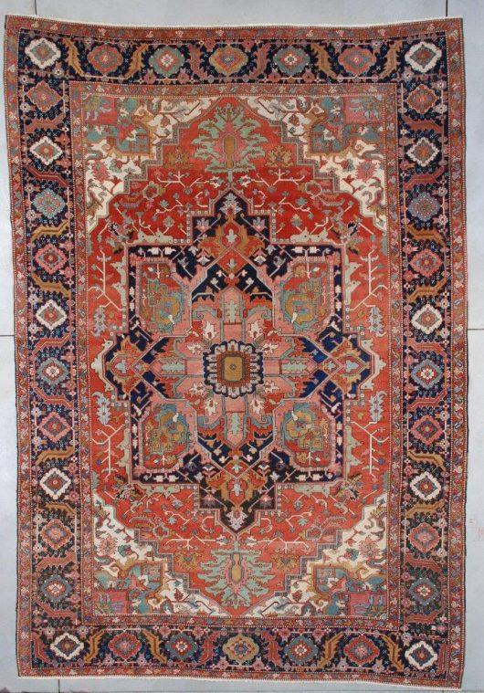 7491 Serapi rug