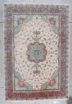 7497 Tabriz Silk Rug
