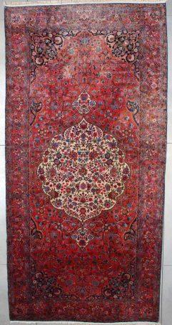7531 Antique Kashan rug