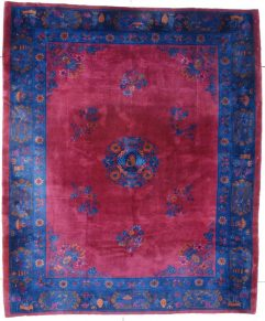 7546 Art Deco Chinese Rug