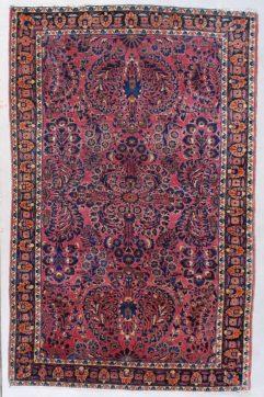 7595 Sarouk rug