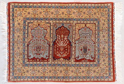 7598 Silk hereke rug