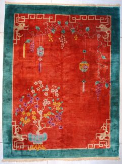 7612 Art deco chinese rug