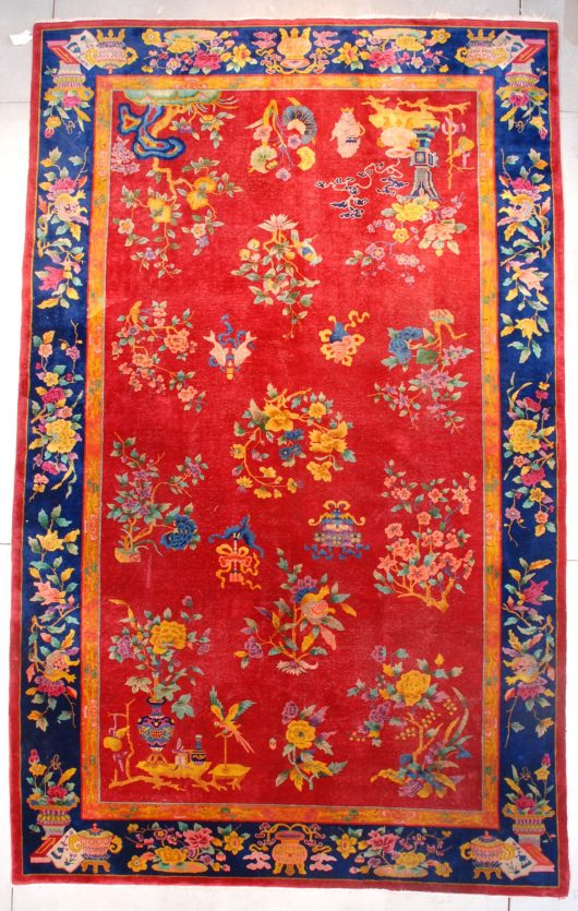 7673 Art Deco Chinese Rug