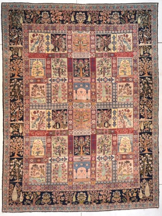 7687 Tabriz rug