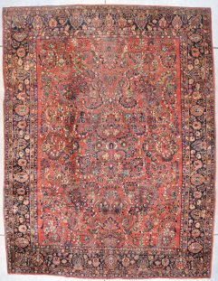 7698 Sarouk rug