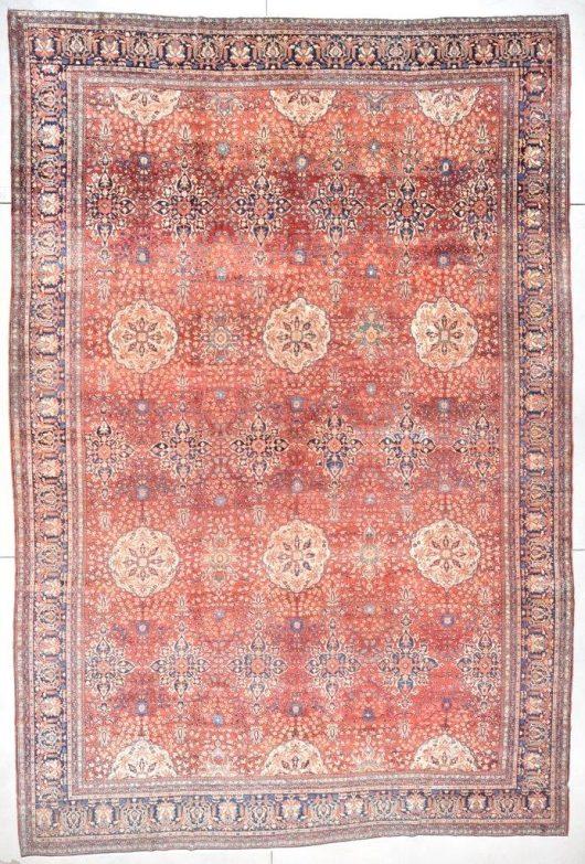 7713 Sarouk rug