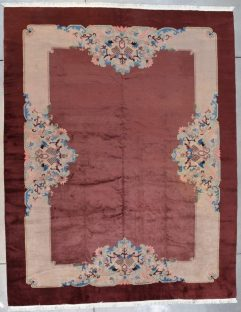 7727 Art deco chinese rug