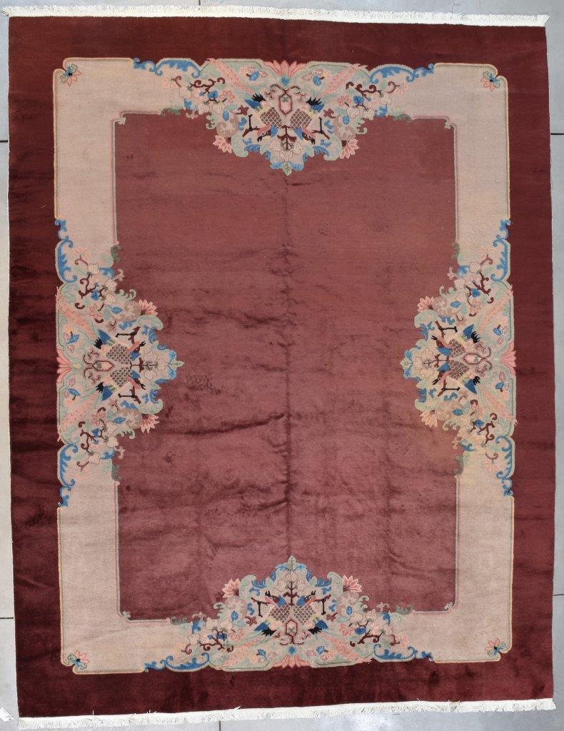 7727 Art deco chinese rug