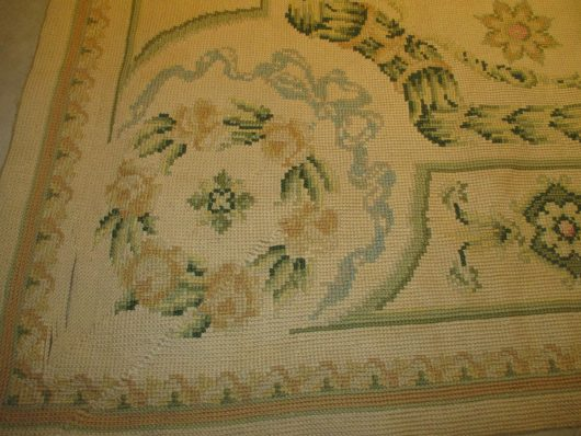 7755 closeups chain stitch rug images