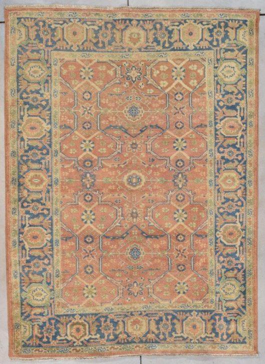 7757 Oushak rug